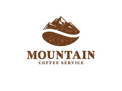 mountain coffee mountain logo creative vector brand identity identity branding art logodesigns logodesigner designer logos logo designs mountain coffee mountain coffee bean bean coffeetime coffee shop coffee