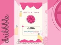 Simple Milk Design for Invitation