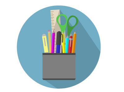 Pencil/Pen Holder Icon