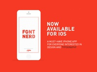 Font Nerd available for iOS