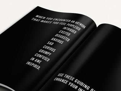 How To Look At Art typography print design design