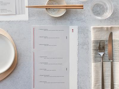 Shiniche – Restaurant Design menu design logo minimal branding print design typography design