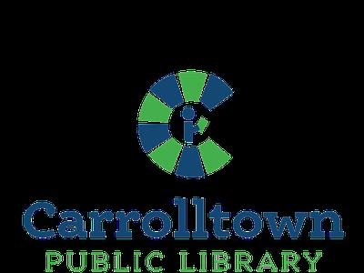 Carrolltown Public Library branding brand identity library