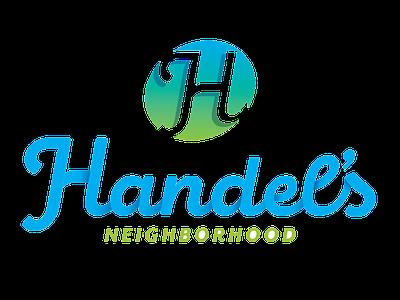 Handel's Neighborhood Association logo brand identity youngstown