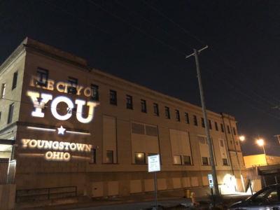 City of You logo projection ohio youngstown