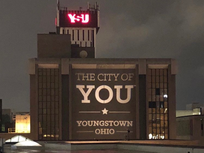 City of You light projection