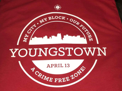 Youngstown Anti-Crime Rallly youngstown circle brand logo