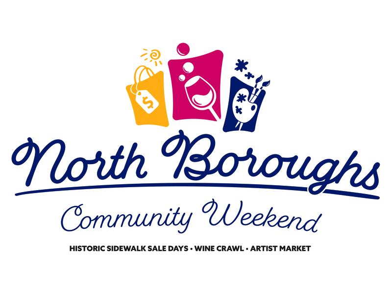 North Boroughs Community Weekend pittsburgh logo design logo