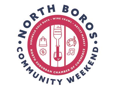 North Boros Community Weekend pittsburgh logo design logo