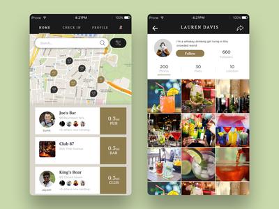 BarTender App UI