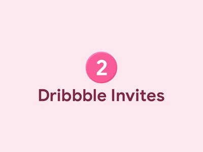 Dribbble Invites