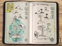 Bingo Island App Preliminary Sketch