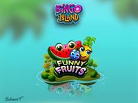 Bingo Island App Island Funny Fruits