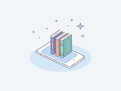 e-book illustration ridibooks signup ebook illustration