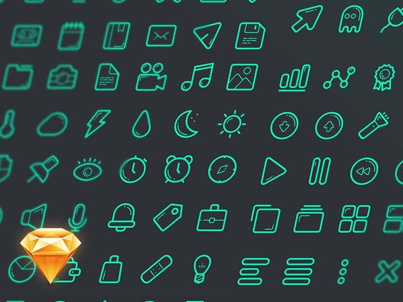 Free Sketch Icon Set icon iconset icon set icons sketch freebie file sketchapp sketch file sketch freebie ui ux