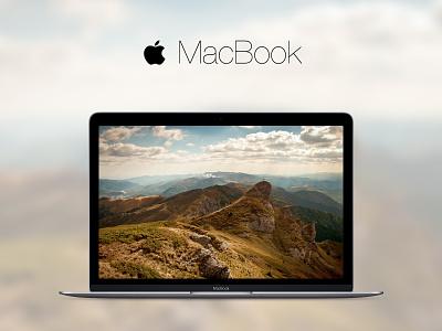 MacBook 2015 (.sketch attached) sketch sketchapp free freebie file resource apple mac macbook mockup