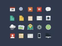 Flat icons3