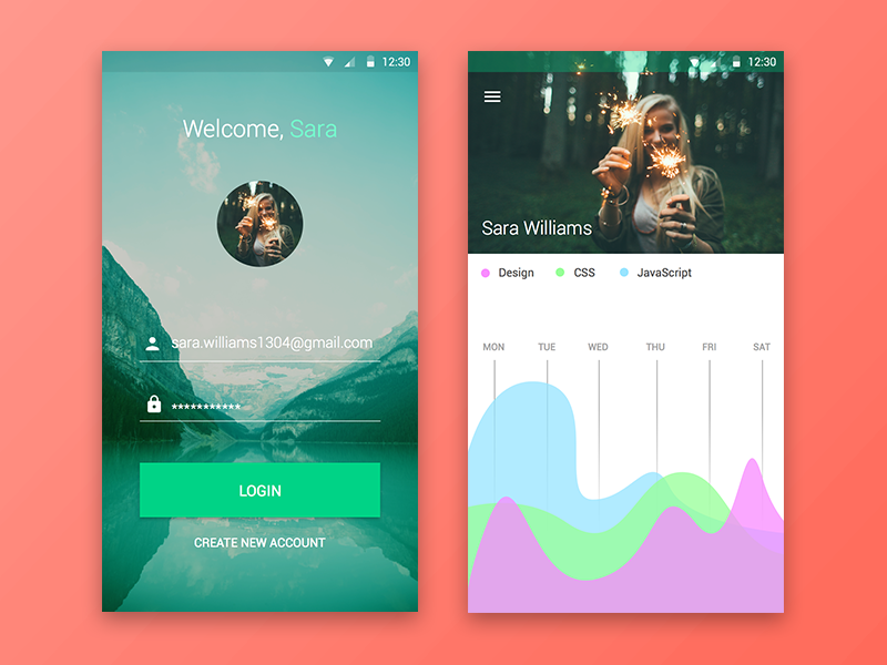 Android Material UI Kit #2 (.sketch) material android user interface user experience ui ux resource file freebie free sketchapp sketch