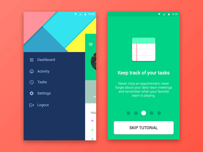 Android Material UI Kit #3 (Sketch Freebie) material android user interface user experience ui ux resource file freebie free sketchapp sketch