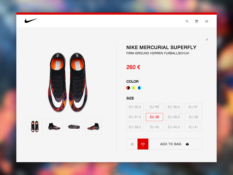Nike Store Redesign animation user interface user experience ui ux resource file freebie free sketchapp sketch