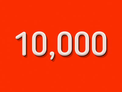 My YouTube channel reached 10,000 subscribers :) party hard milestone subscribers channel youtube