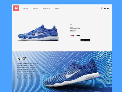Nike Website Redesign user interface user experience iphone ios app animation ui ux sketchapp sketch freebie free