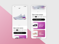 Nike Shop UI Concept (Sketch Freebie) free freebie user interface sketchapp sketch ux ui