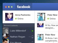 Facebook Messenger for Mac OS X