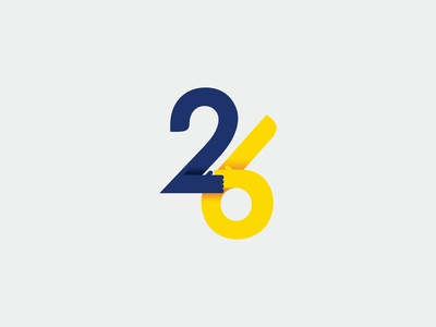"""26"" logo"