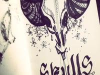 Skulls&Flowers I