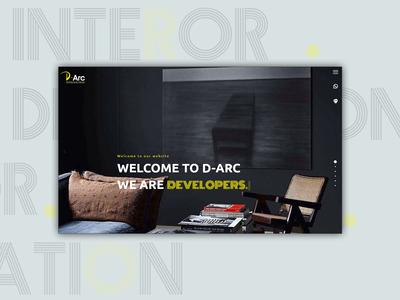 Interior Website design | Wordpress interior interior design ui  ux design wordpress website
