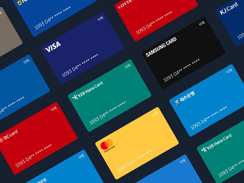 Credit Card Design logo color checkout creditcard pay bank card payments ui
