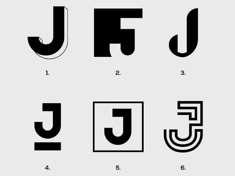 Letter J exploration logotype logomark visual identity designer branding designer identity designer brand identity designer brand identity graphics designer logo designer logo design logos branding
