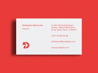 Prodigitas Business Card / Identity / Print