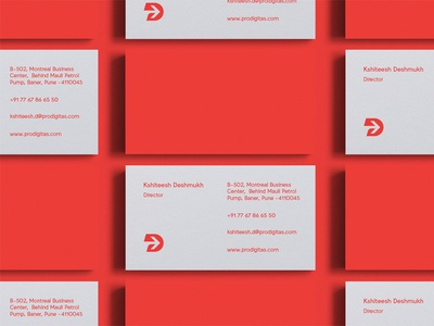 Prodigitas Business Cards / Branding
