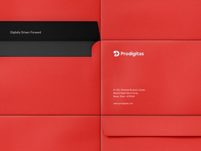 Prodigitas Branding / Identity / Envelopes