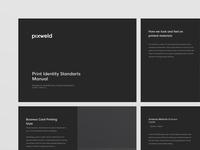 Pixweld Print Identity Standarts Manual