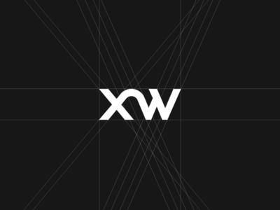 Pixweld (XW) Wordmark Logotype Structure