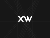 Pixweld (XW) Wordmark Logotype Structure