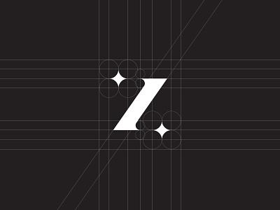 Zilinskas Logotype Mark / Symbol / Z / Star minimal design logo mark symbol monomark shine star blitz fashion photographer