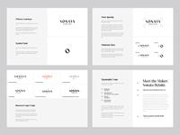 Sonata Jewellery Logo / Brand Guidelines / Minimal