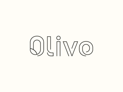 Olivo Logotype Wordmark