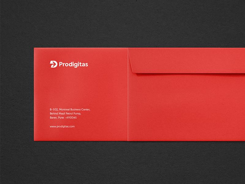 Prodigitas envelope