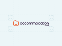 Accommodation.co.uk Logotype Wordmark / Identity / Symbol / Icon