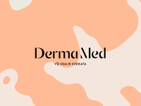 DermaMed Identity Design / Logotype Wordmark / Branding