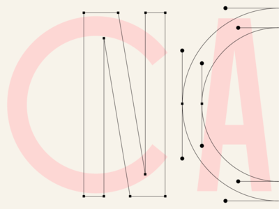 Casual Nomad Wordmark Logotype Process