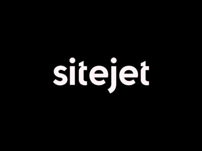 Sitejet.io Logotype Wordmark / Identity V2