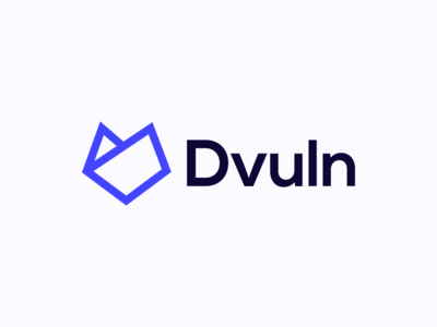 Dvuln Combination Logotype / Identity