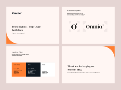 Omnia PA Logotype / Identity Guidelines