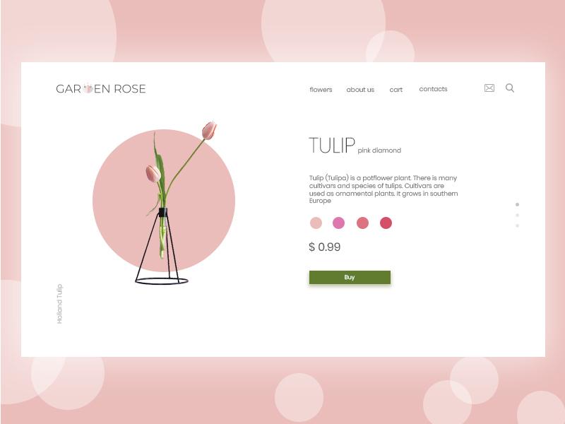 Tulip followforfollow follow likeforlike like webdesign web website tulip flower design uidesign ux uiux ui
